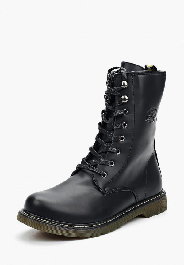 Купить Ботинки Crosby, cr004amuds77, черный, Осень-зима 2017/2018