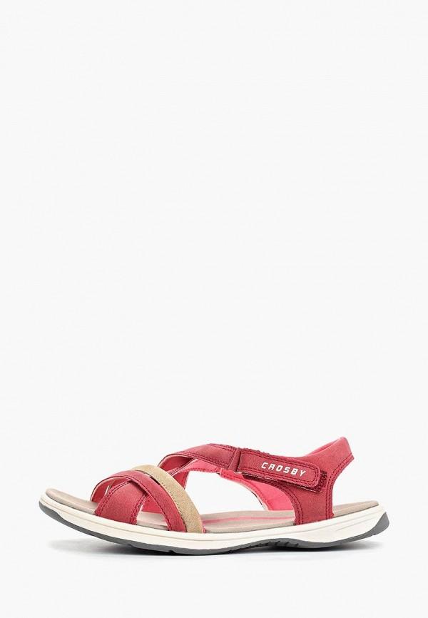 женские сандалии crosby, розовые