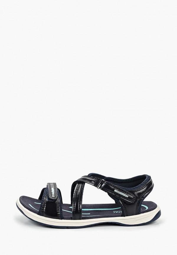 женские сандалии crosby, синие
