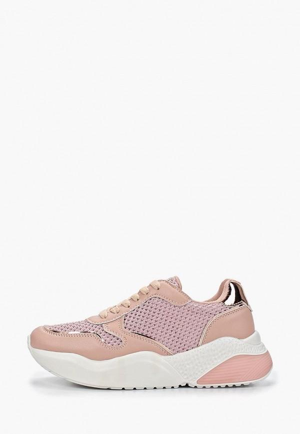 женские кроссовки crosby, розовые