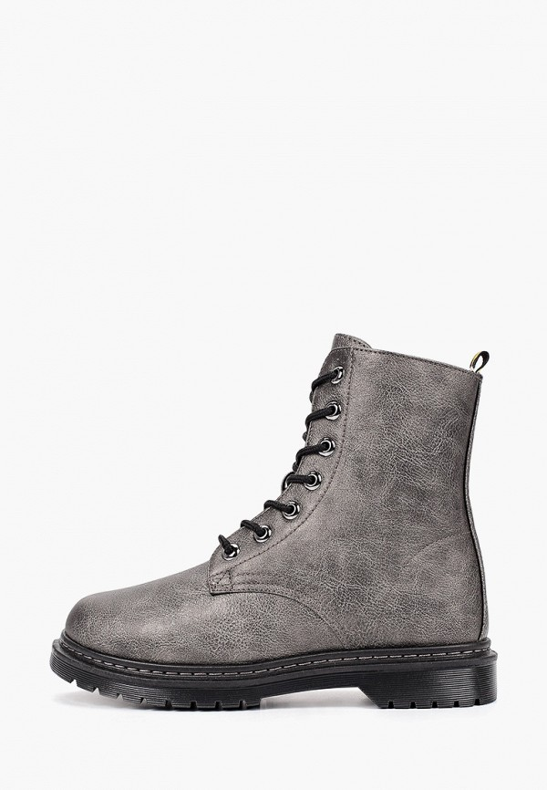 женские ботинки crosby, серые