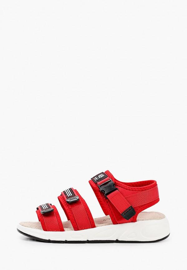 женские сандалии crosby, красные