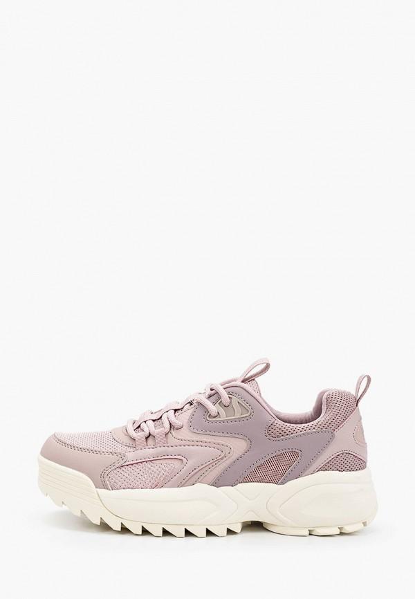 женские кроссовки crosby, фиолетовые