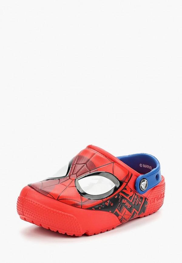 сабо crocs для мальчика, красное