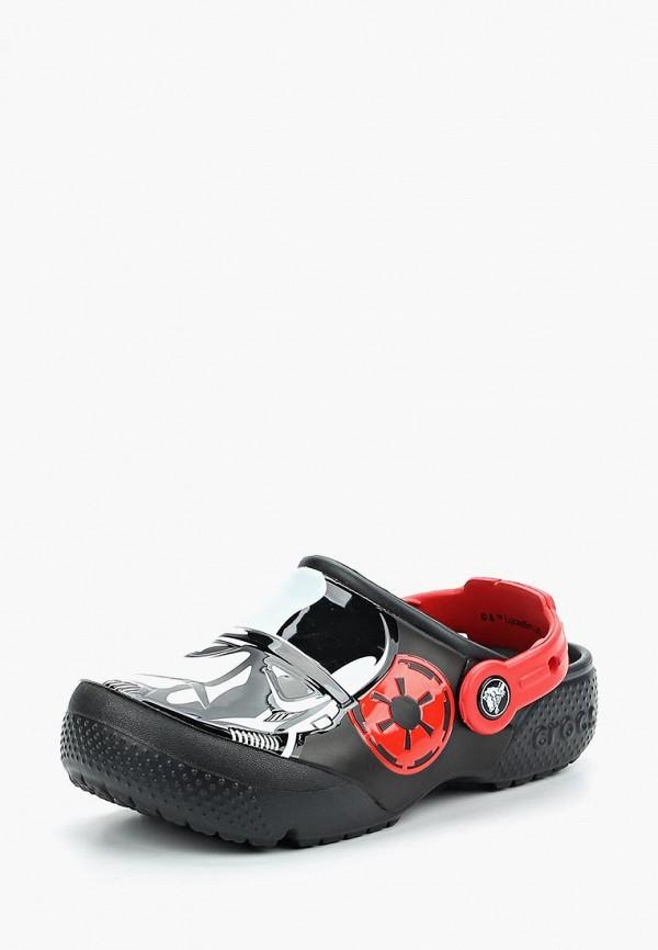 сабо crocs для мальчика, черное