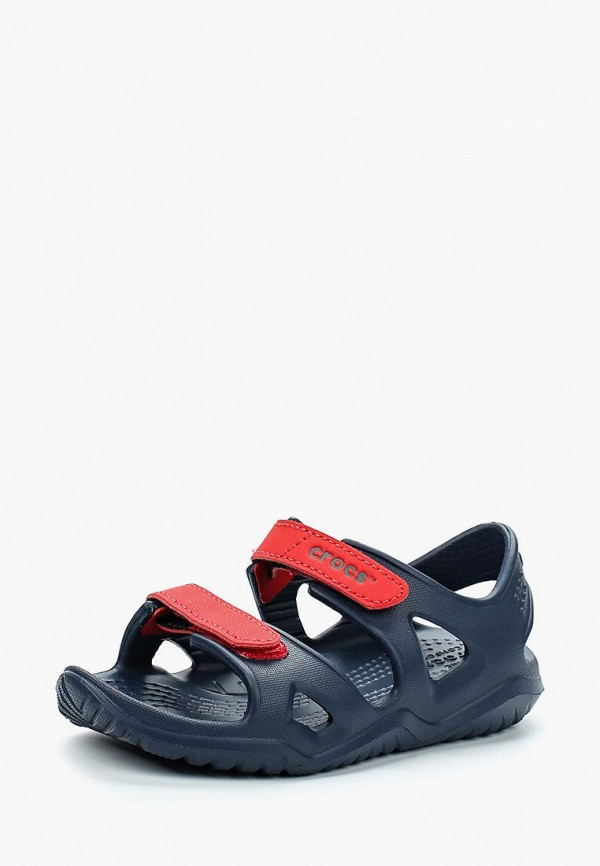 сандалии crocs для мальчика, синие