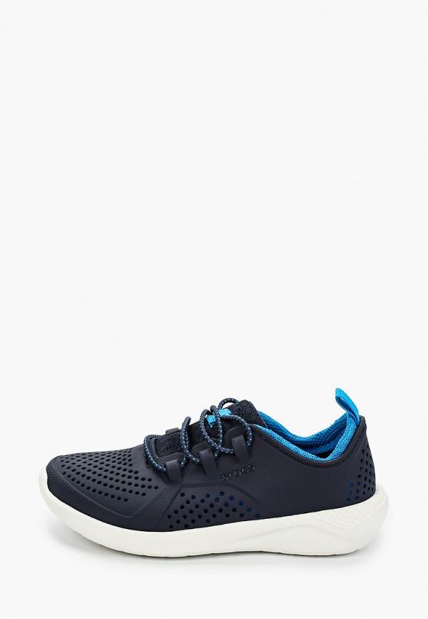 кроссовки crocs для мальчика, синие