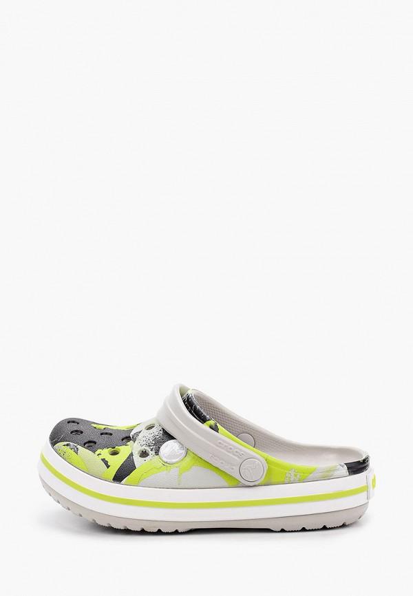 сабо crocs для мальчика, разноцветное
