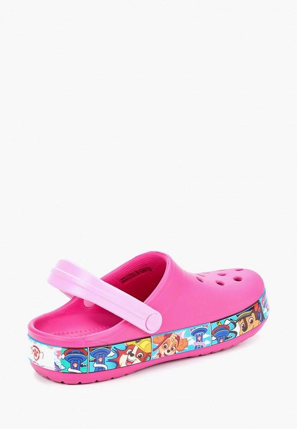 Фото 3 - Сабо Crocs розового цвета