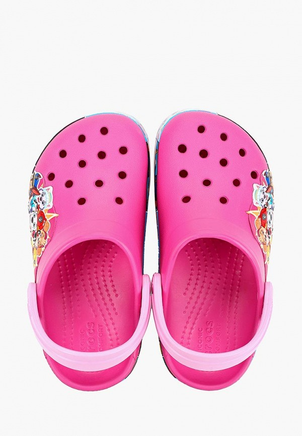 Фото 4 - Сабо Crocs розового цвета