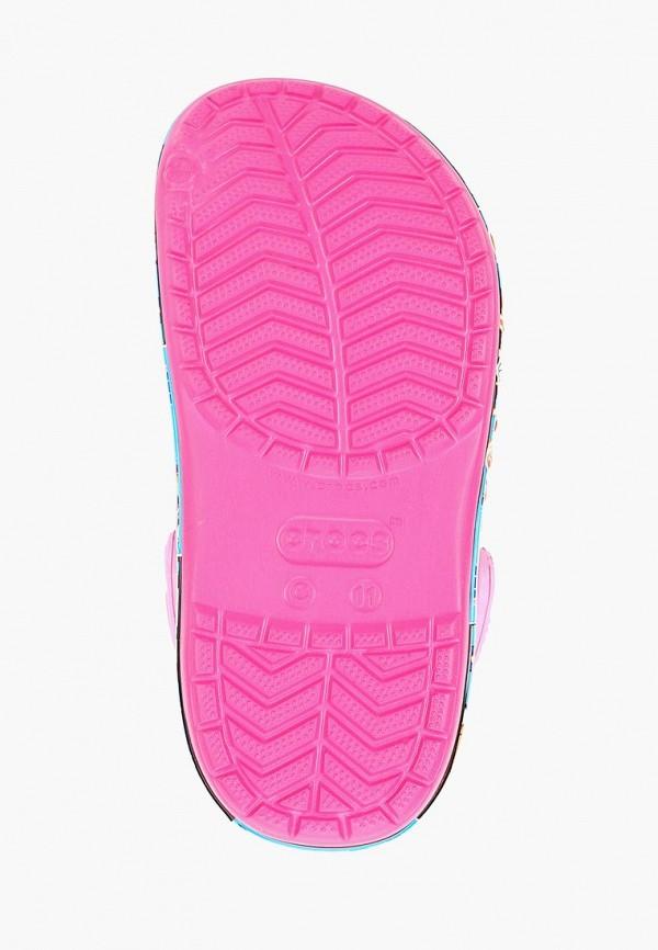 Фото 5 - Сабо Crocs розового цвета