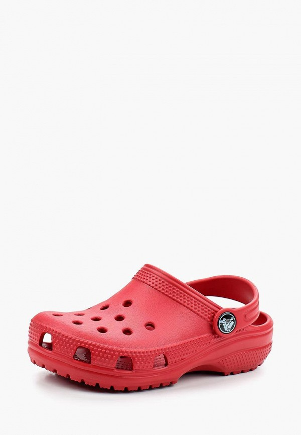 сабо crocs малыши, красное