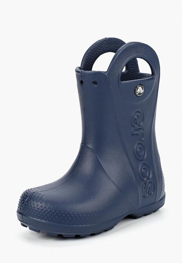 резиновые сапоги crocs малыши, синие