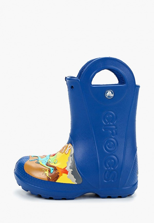 сапоги crocs малыши, синие