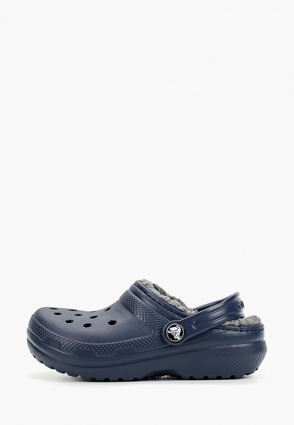 сабо crocs малыши, синее