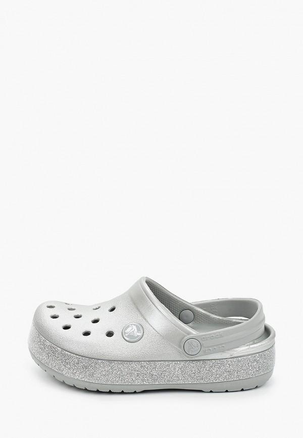 сабо crocs малыши, серое