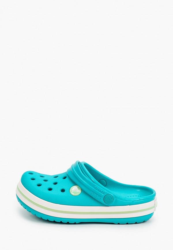 сабо crocs малыши, бирюзовое
