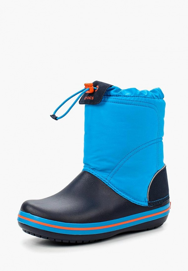 сапоги crocs для мальчика, синие
