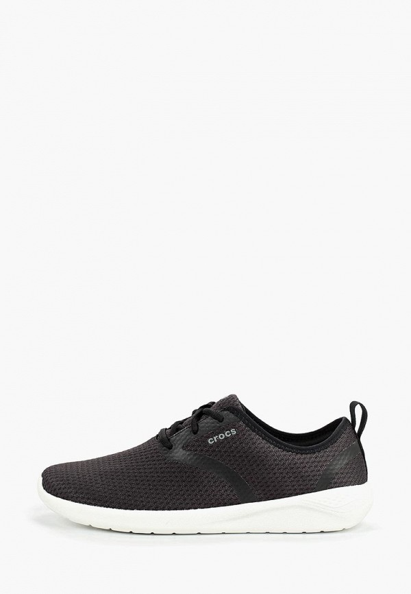 мужские кроссовки crocs, черные