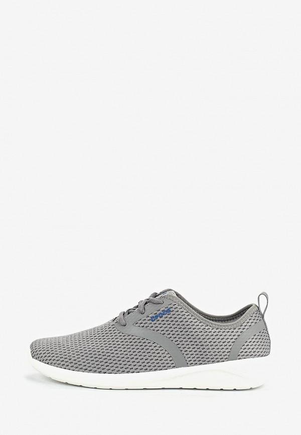 мужские кроссовки crocs, серые