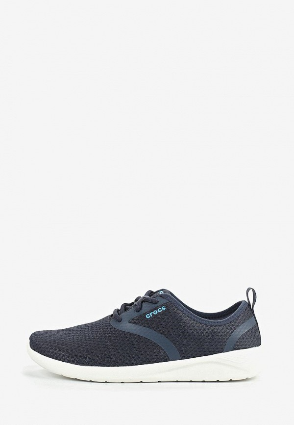 мужские кроссовки crocs, синие