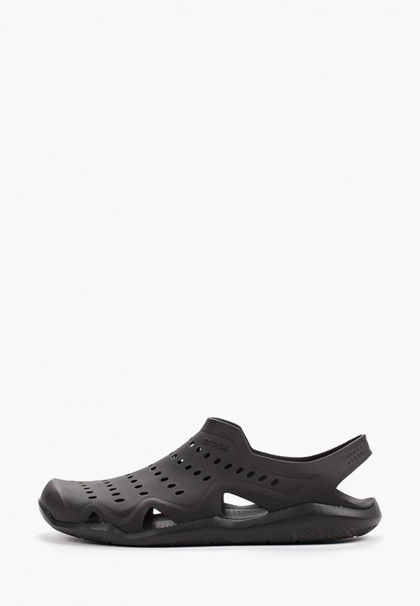 мужское сабо crocs, черное