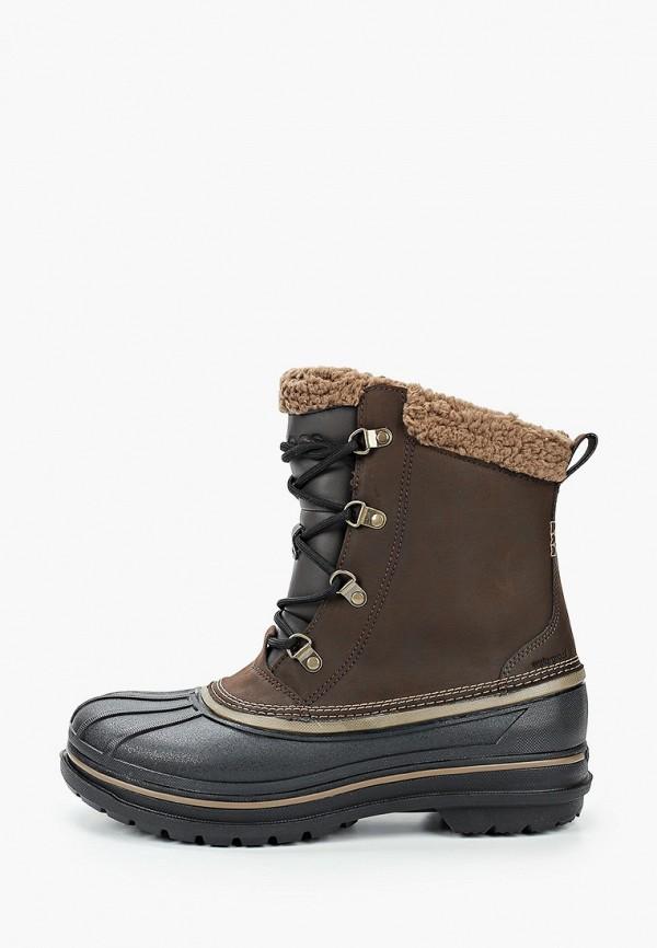 мужские высокие ботинки crocs, хаки