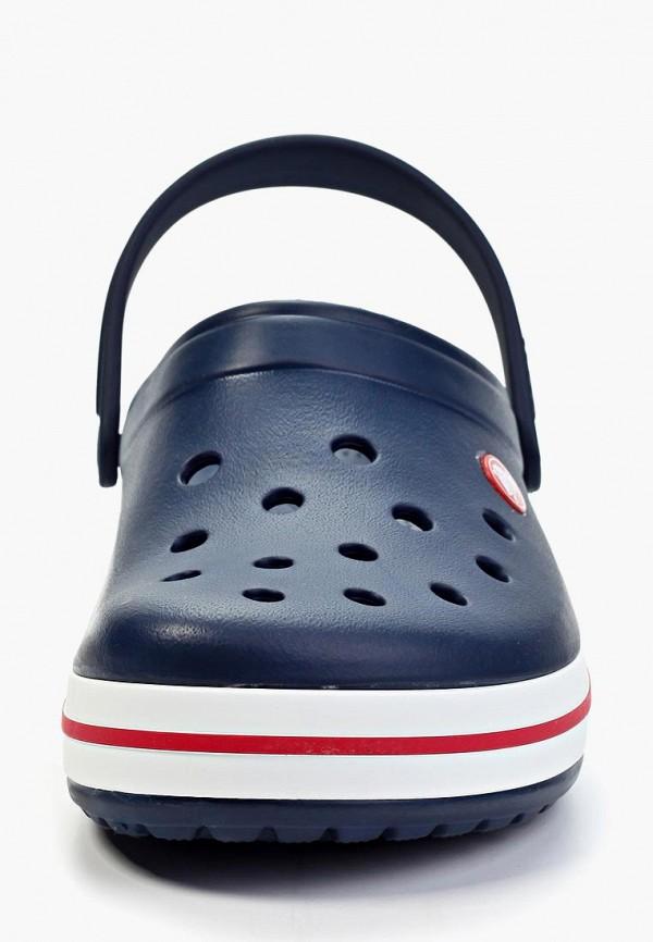 Фото 4 - Сабо Crocs синего цвета
