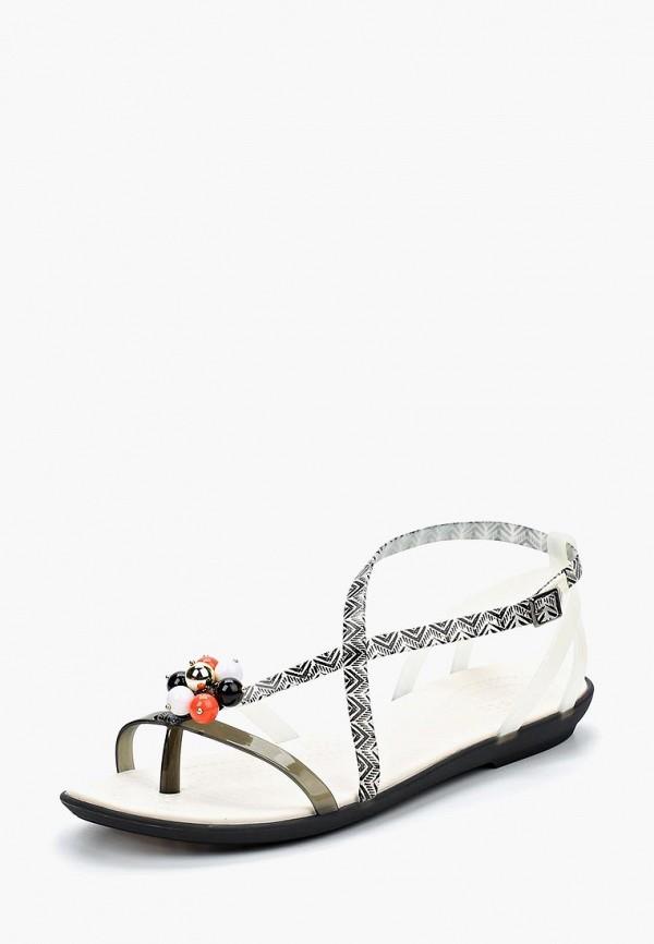 Женские серые сандалии CROCS