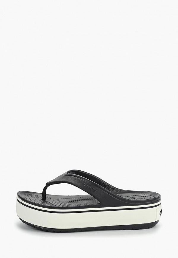 Купить Сабо Crocs, cr014awemip1, черный, Весна-лето 2019