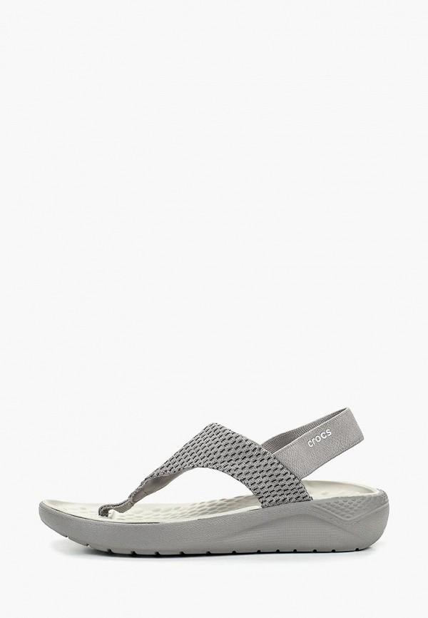 Сандалии Crocs Crocs CR014AWEMMX2 сандалии crocs crocs cr014agarrn1