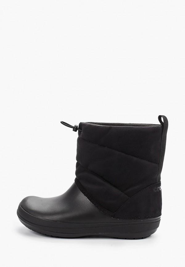 Дутики Crocs Crocs CR014AWGLAV0 дутики женские crocs crocband winter boot women цвет серый 205314 998 размер w6 36