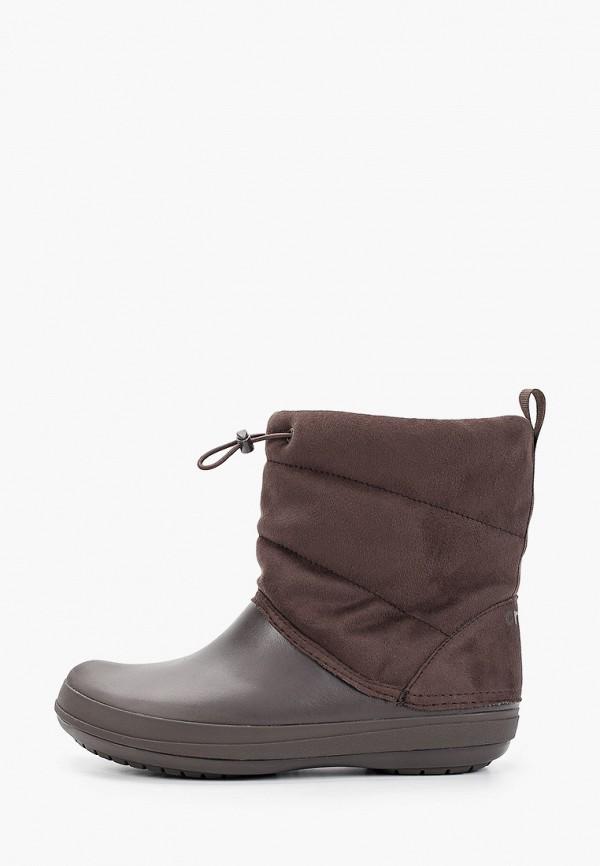 Дутики Crocs Crocs CR014AWGLAV1 дутики женские crocs crocband winter boot women цвет серый 205314 998 размер w6 36