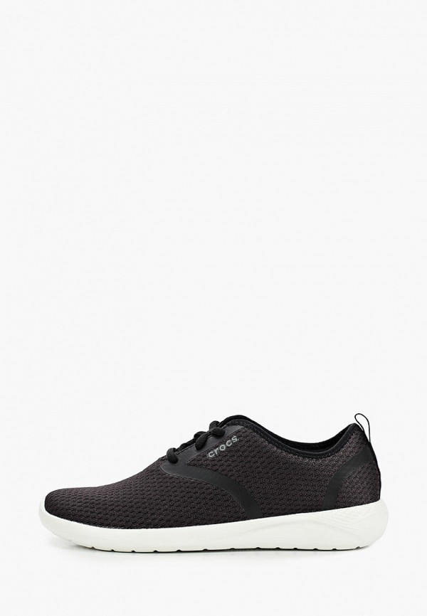 женские кроссовки crocs, черные