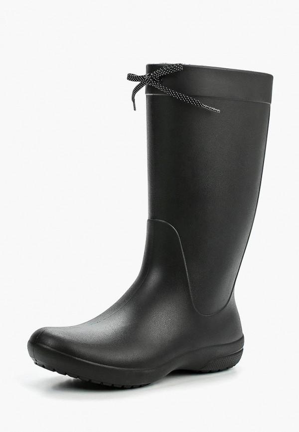мужские резиновые сапоги crocs, черные