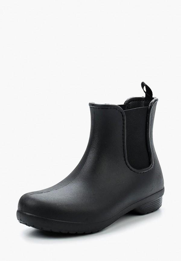 мужские ботинки crocs, черные