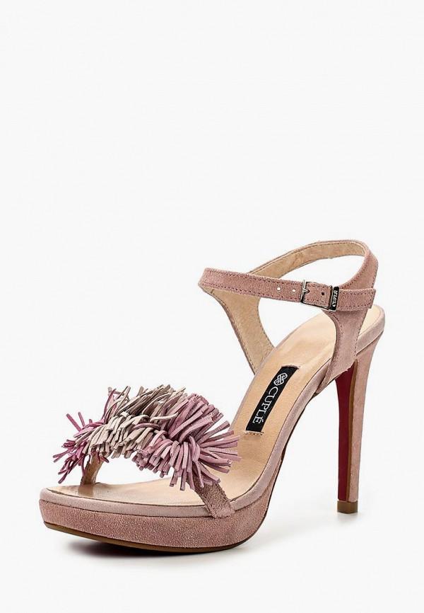женские босоножки cuple, розовые