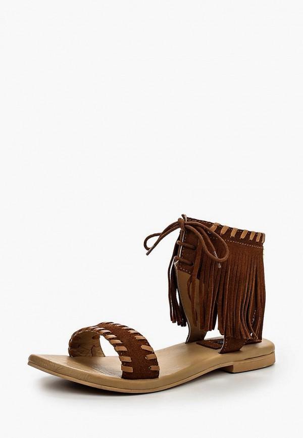 женские сандалии cuple, коричневые