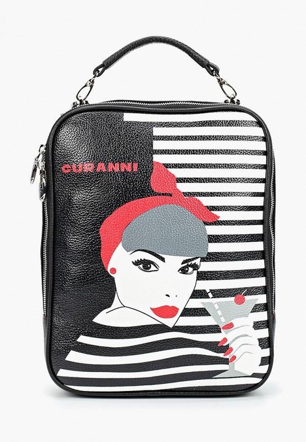 женский рюкзак curanni, черный