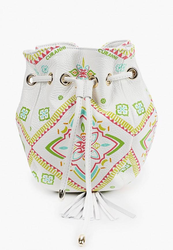 женская сумка curanni, белая