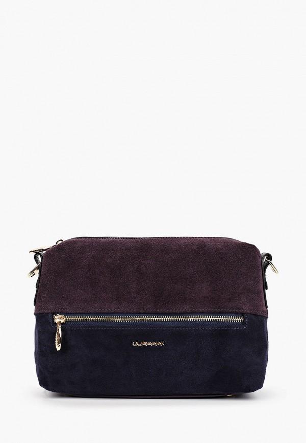 женская сумка curanni, синяя