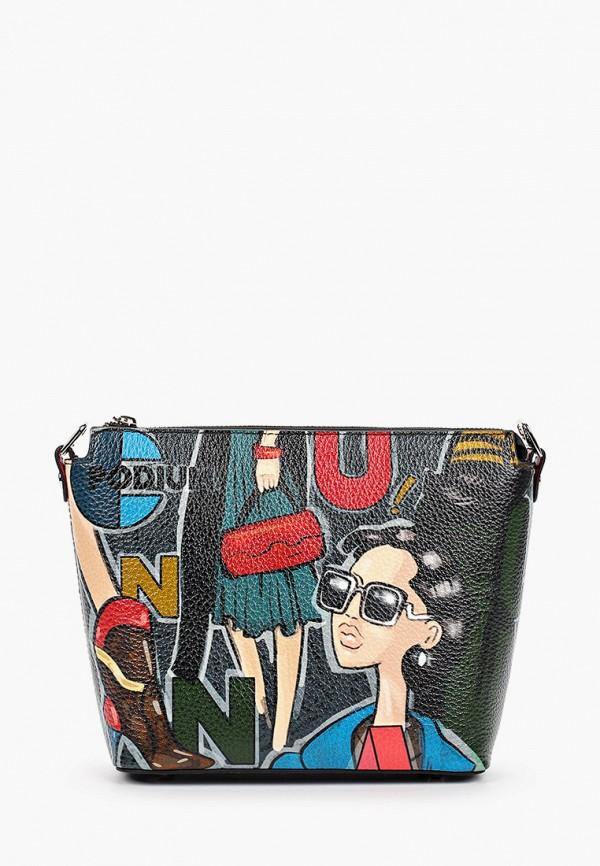 женская сумка curanni, черная