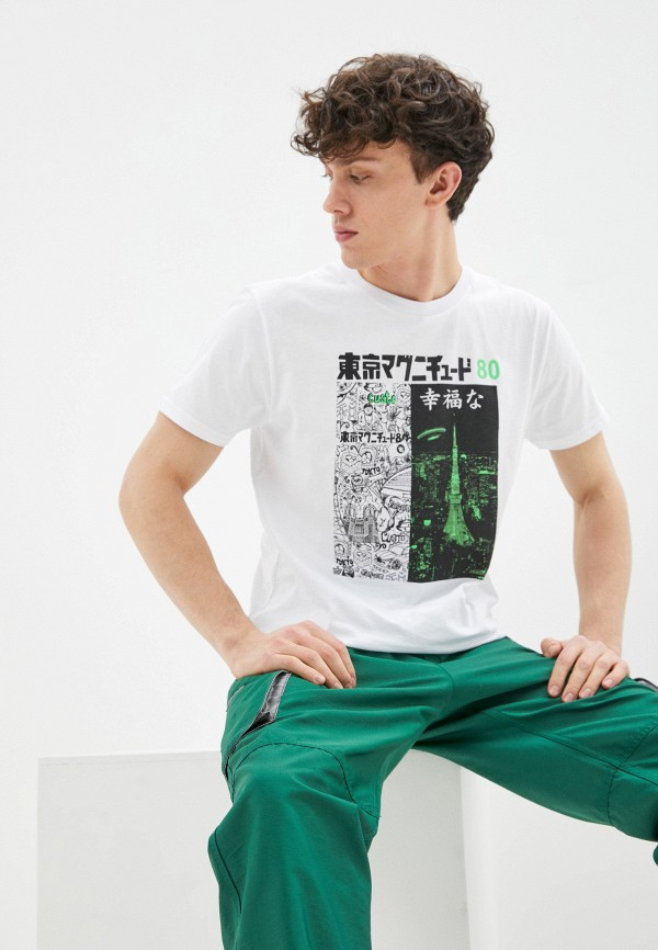 мужская футболка custo barcelona, белая