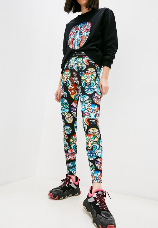 женские леггинсы custo barcelona, разноцветные