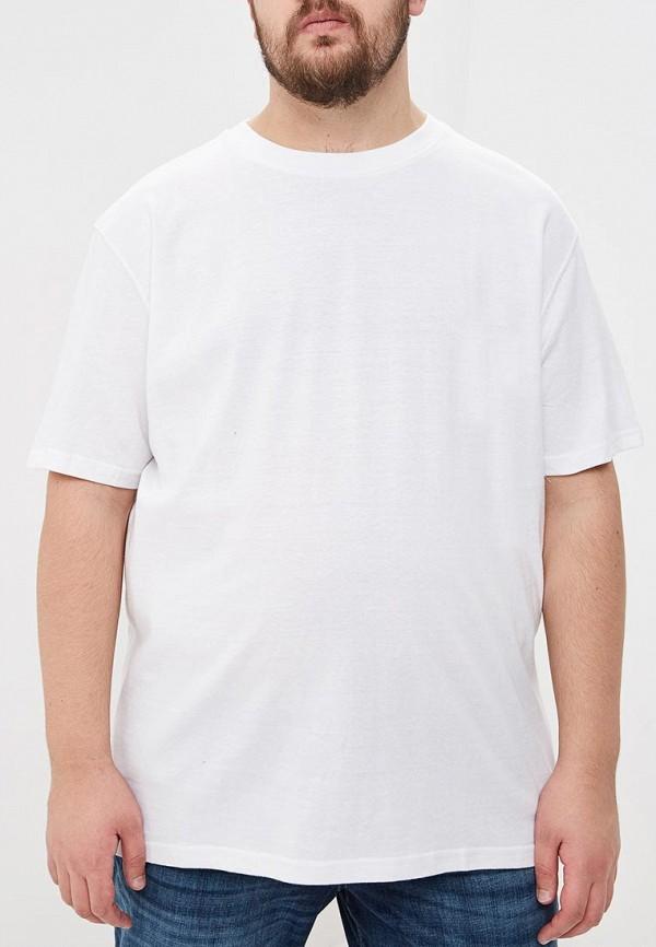 мужская футболка d555, белая