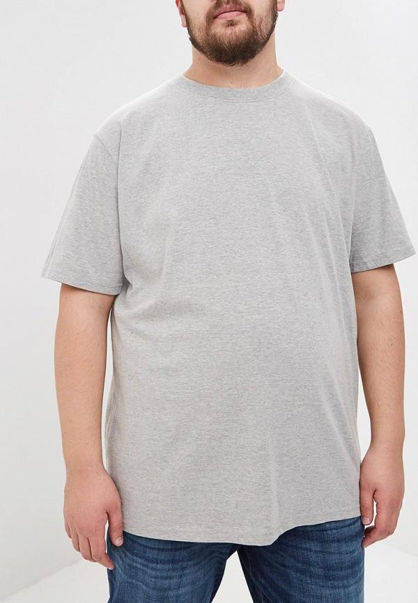 мужская футболка d555, серая