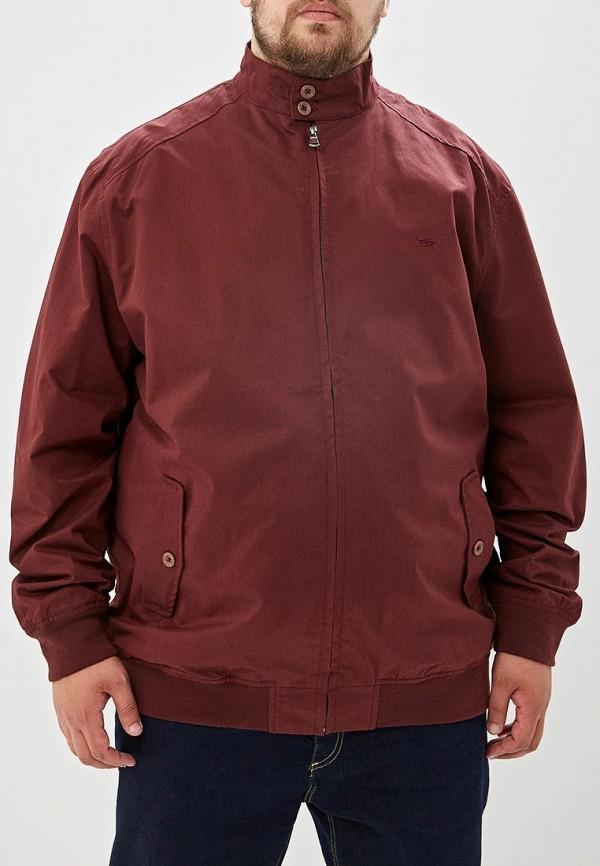 мужская куртка d555, бордовая