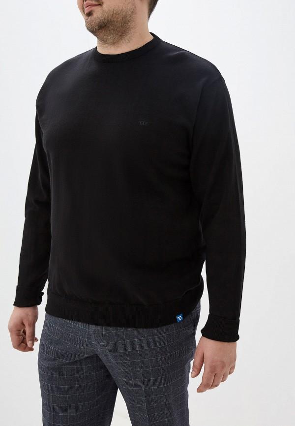мужской джемпер d555, черный