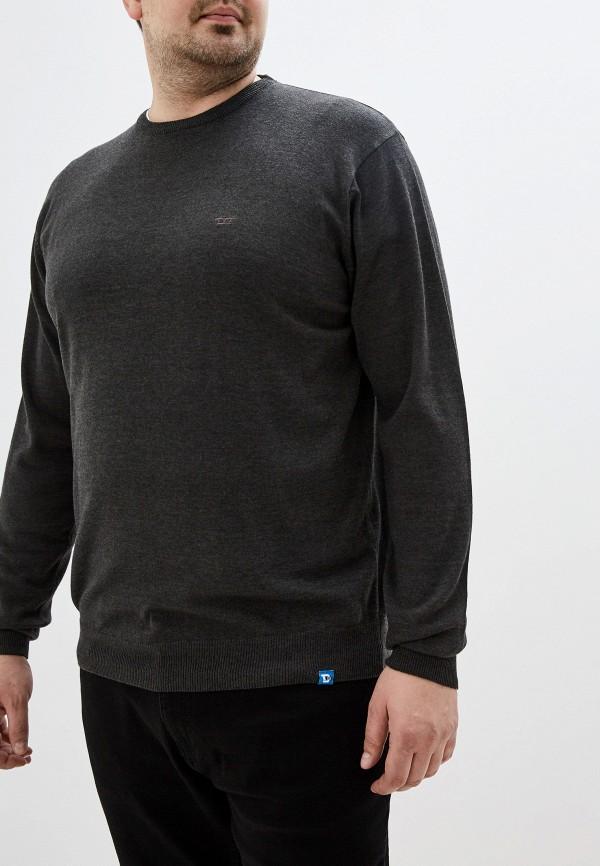 мужской джемпер d555, серый