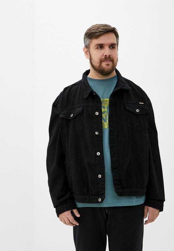 мужская куртка d555, черная